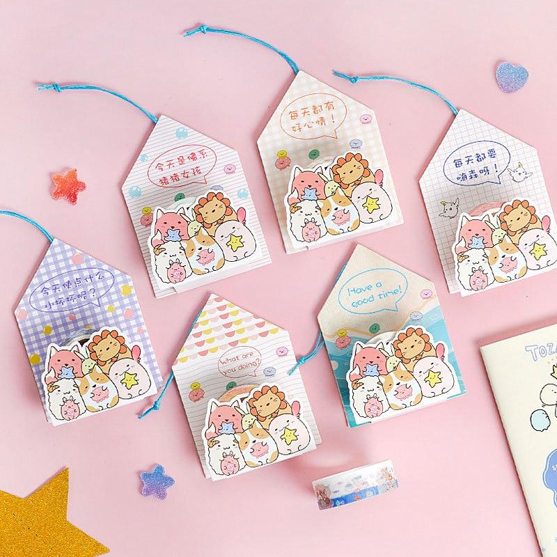 Cute Kawaii Cartoon Sumikko Gurashi Washi Tape Decorative Adhesive Masking Tape For Stickers Scrapbooking DIY Stationery Tape
