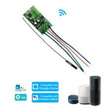 WiFi умный переключатель дистанционного управления электронный замок без ключа дверной замок для Alexa/Google home DIY Блокировка соединения дома модуль