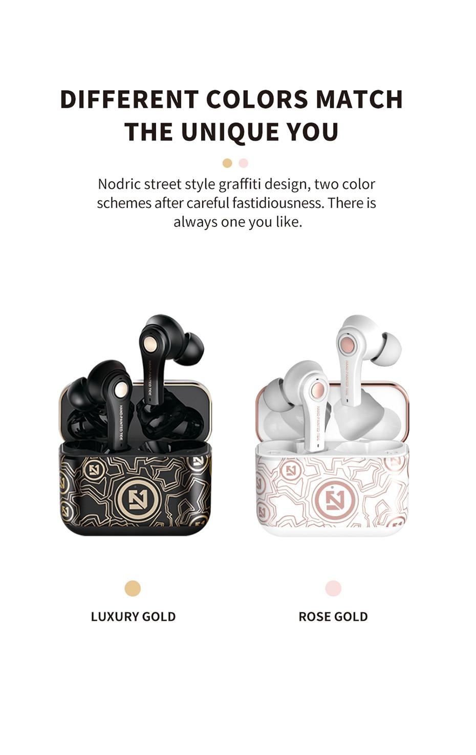BONOLA TWS Wireless Bluetooth Headset 5.0 Sport Waterproof Earbud Earphone with Microphone for iPhone 1212Mini Xiaomi Samsung (10)
