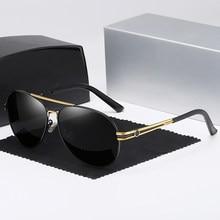 Óculos de sol polarizados homens marca designer mercede 613 óculos piloto masculino esportes condução óculos de pesca uv400 gafas sol hombre