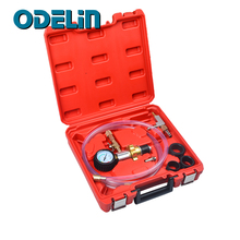 Radiator Coolant Vacuum Cooling System Refill Purging Tool Gauge Kit Quick Coupler Attachments