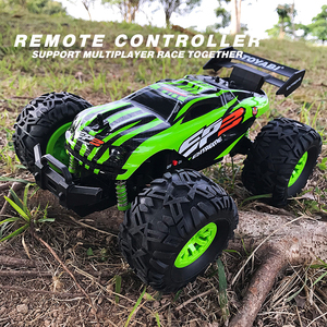 Image 5 - RC Car 2.4G 1/18 Monster Truck Car Remote Control Toys Controller Model Off Road Vehicle Truck 15KM/H Radio Control Car toy cars