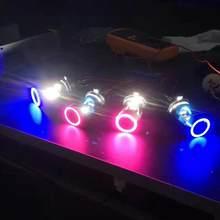 Blue Angel eye – phare de moto H4, ampoule Ba20d, accessoires de moto DRL H6, phare de Scooter HS1 O9I9