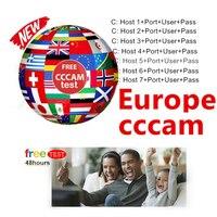 עבור dvb קווי אירופה קולטן Cccams עבור 1 בשנת אירופה המשמשת DVB-S2 ערוצי אירופה מקלט לוויני Ccams 6 קווים uesd ב freesat (1)