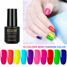 1Pcs 7Ml Cat Kuku UV Gel Malam Neon Glow Dalam Gelap Rendam Off Gel Nail Polish Semi permanen Luminous Kuku Seni TSLM1(China)