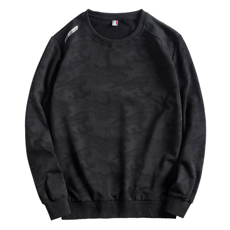 Men Camouflage Sweatshirts Sports Workout Plus Big Size Hoodies Sprotwear Sweatshirts Autumn 8XL 9XL 10XL Oversize Coat 150KG