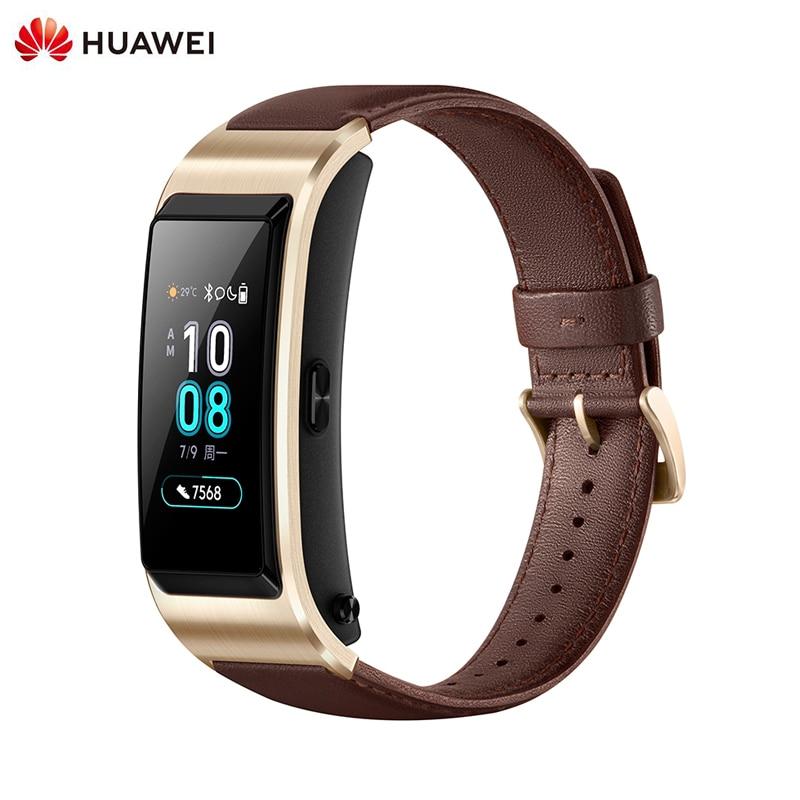 Original Huawei Smart Watch TalkBand B5 Sleep Fitness Tracker Heart Rate Tracker Smart Bracelet GPS Sport SmartWatch Wristbands