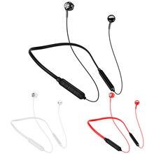 Auriculares inalámbricos con Bluetooth, Mini auriculares deportivos magnéticos estéreo IPX7 impermeables con micrófono para teléfonos inteligentes