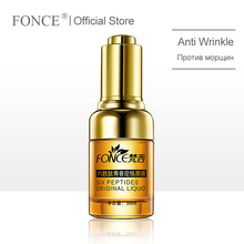 Korean Anti Wrinkle Remover Facial Serum Plant Aging Lifting firming face 25-55 age Argireline Six Peptides Essence 30ml