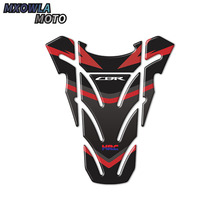 3D Carbon-look Motorcycle Tank Pad Protector Decal Stickers Case for Honda CBR 250RR 600RR 900RR 1000RR 650F 500R Fireblade universal motorcycle damper steering stabilizer moto linear safety control for honda cbr 600rr 1000rr 250rr 300rr 250r 650f 500r