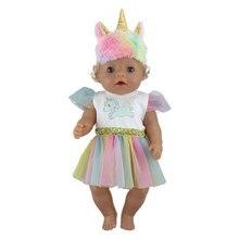 Moda yeni takım elbise için 17 inç bebek yeniden doğmuş bebek 43cm elbise