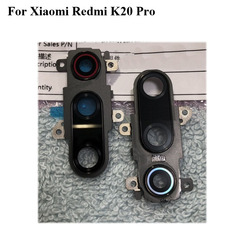 Для задней камеры xiaomi Red mi K20 pro K 20 pro, стеклянный объектив + Крышка для камеры, круг, запасные части для корпуса, красный mi K20pro