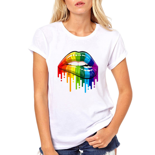 ZOGANKI New Women Summer Tops Tees Funny Printed   T     Shirt   Short Sleeve Fashion Round Neck Women Tshirt Female Punk Tees   Shirt