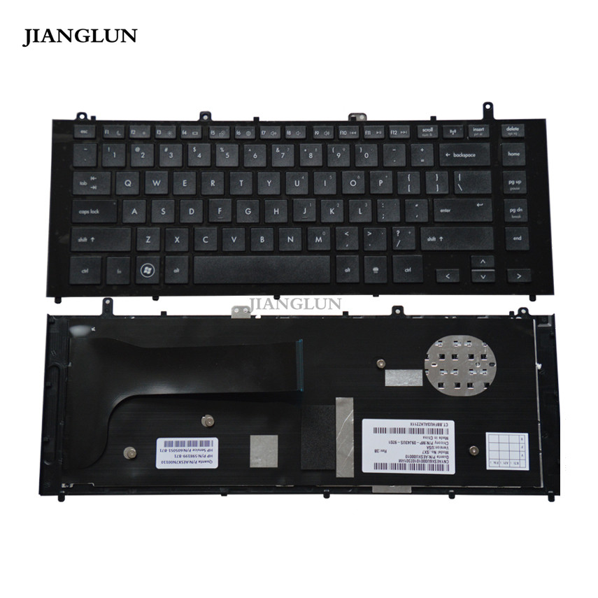 JIANGLUN US Layout Keyboard With Frame For HP ProBook 4420S 4421S 4425S 4426S