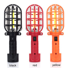 Auto Repair Light Flashlight Hiking Warning Lamp COB LED 16LED Torch Travel Outdoor Camping Lights Portable portable mini cob led flashlight keychain handy light lamp carabiner camping outdoor torch