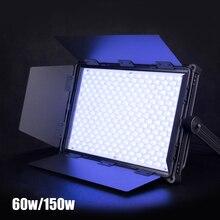 Nanguang MixPanel 60 Вт 150 Вт Светодиодный светильник RGB Полноцветный со специальным эффектом светильник для фотостудии видео кино светильник ing