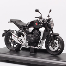 children's 1:18 scale Welly 2018 Honda CB1000R  bike motorcycle race moto Diecasts & Toy Vehicles model miniature for collection