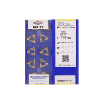 RT16.01N-AG60 YBG201 100% Original ZCC-CT carbide insert/ end mills with the best quality 10pcs/lot free shipping