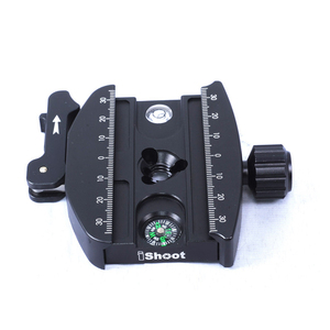 Image 3 - iShoot Metal Lever Clamp for Gitzo GH1780 GH2780 GH3780 Series & RRS Tripod Ball Head and Manfrotto ARCA SWISS Fit Camera