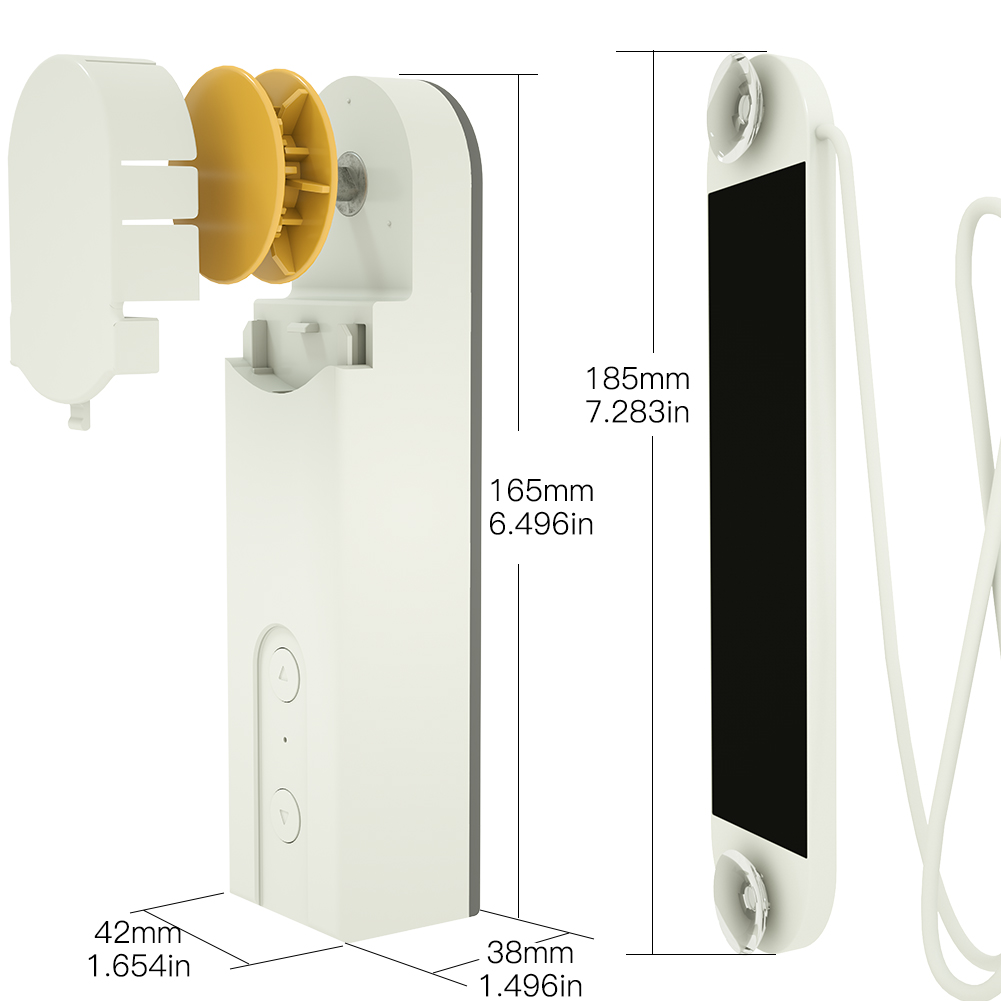Prome Code:2500PLUS DIY Smart Motorized Chain Roller Blinds Shade Shutter Drive Motor Powered Charger Bluetooth APP Control  - buy with discount