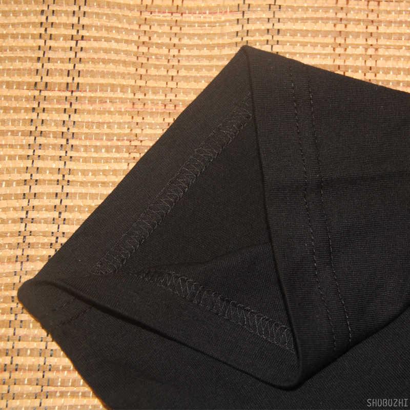 ONSTERFELIJKE Nieuwe Logo Zwarte T-shirt S-XXL Black Metal Band T-shirt Darkthrone Mayhem Slanke Korte Mouw T-shirt Mannen Top tees sbz4404