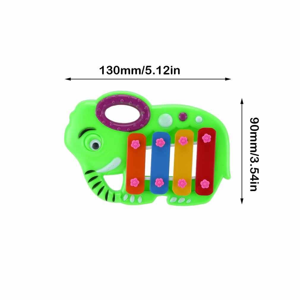 Mini juguetes para niños, cuatro juegos de piano de juguete, juguetes educativos para bebés, rompecabezas, juguetes para niños, juguetes de plástico