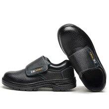 Прочные и анти-проникновение безопасная обувь легкие беспроводные анти-скольжения, очень легкие, модные защитная обувь безопасный Breatha