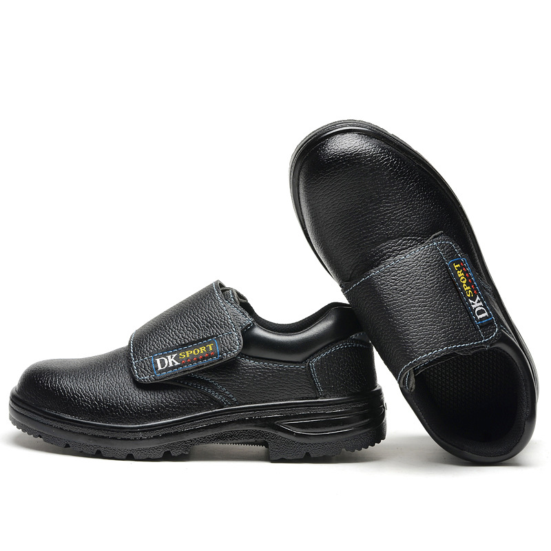 Anti-smashing And Anti-penetration Safety Shoes Lightweight Wearable Anti-slip Lightweight Fashion Protective Shoes Safe Breatha