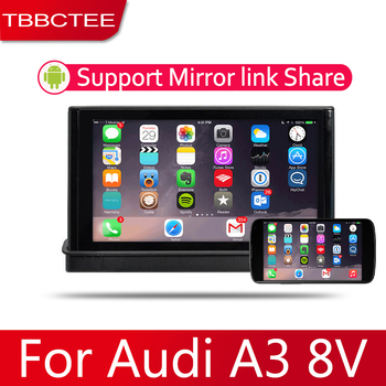 7 HD 1080P IPS LCD Screen Android 8 Core For Audi A3 8V 2014~2018 Car Radio BT 3G4G WIFI AUX USB GPS Navi Multimedia image