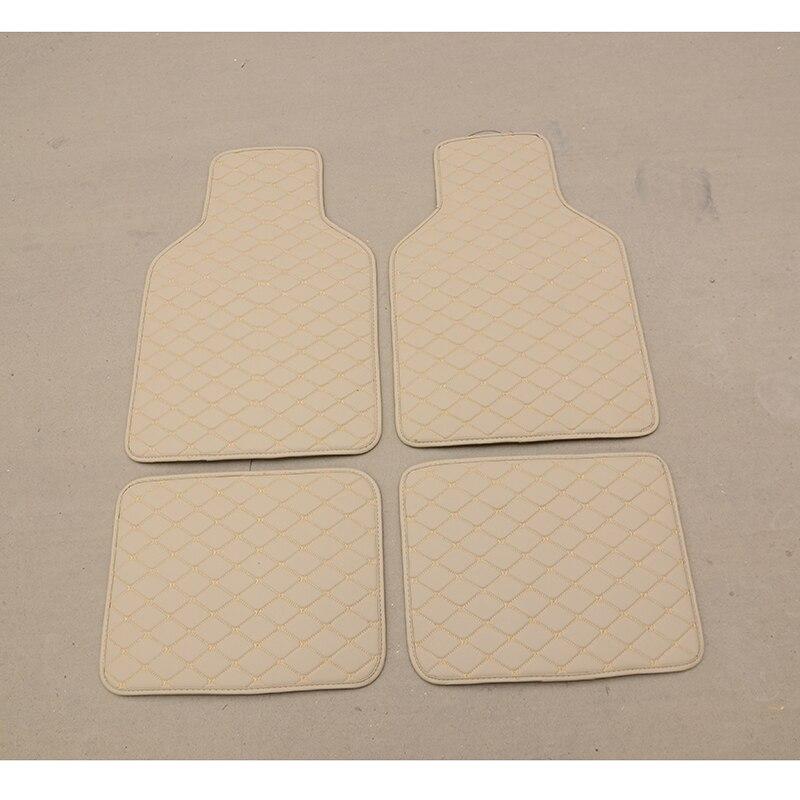 WLMWL Car universal foot pad For Audi all models a3 8v a4 b6 b9 b8 c7 q5 a5 a6 c6 q7 q3 car styling auto Cushion Car Carpet Cove|Floor Mats| |  - title=
