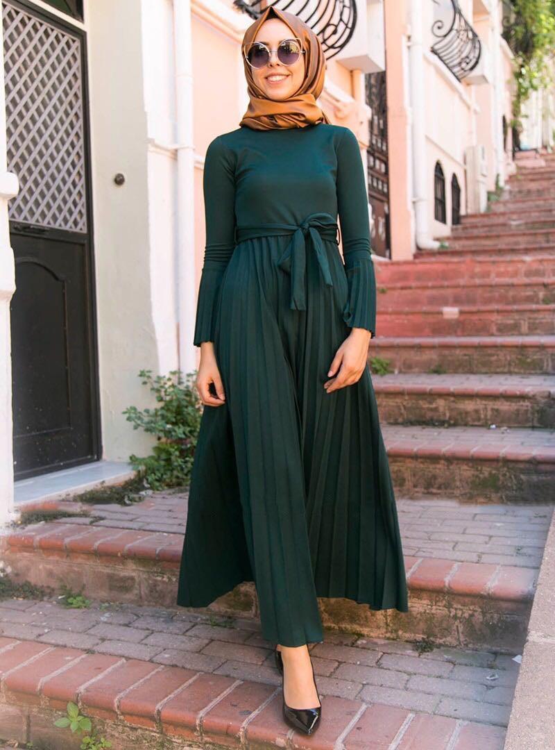 أتمنى لك كل خير الحالة بطن Taiko turkish muslim dresses