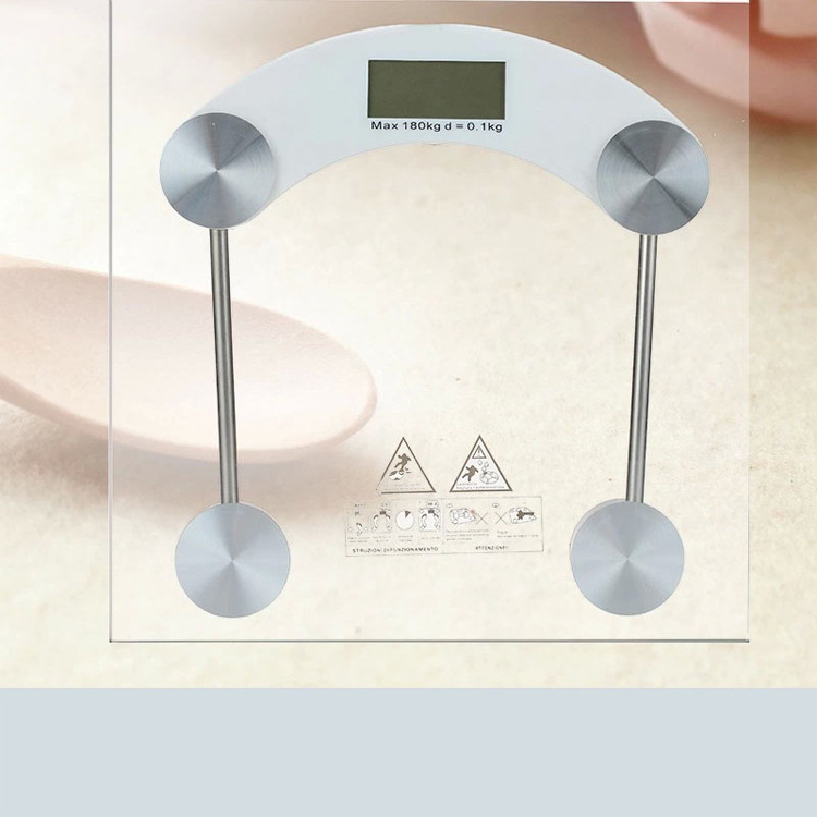 Manufacturers Wholesale 30 Cm Square Electronic Scale Foreign Trade Weight Scale Electronic Body Scale English Packaging