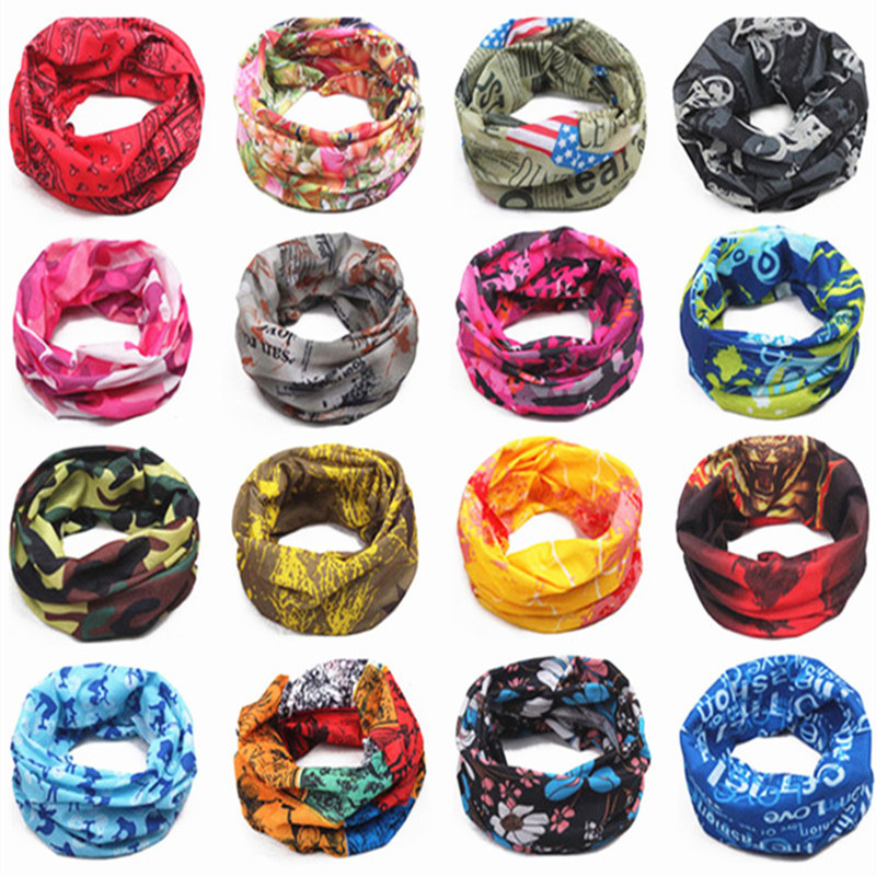 Magic Scarf Men Children's Warm Cotton Tube Scarf Boy Girl Scarf Shawl O Ring Neckerchief Cartoon Magic Scarf Women Headband New