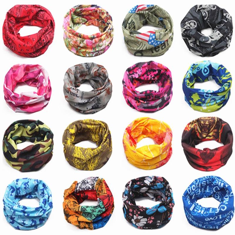 Magic Scarf Men Children's Warm Cotton Tube Scarf Boy Girl Scarf Shawl O Ring Neckerchief Cartoon Magic Scarf Women Headband New