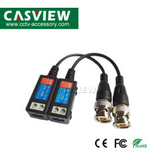 Video Balun UTP Mendukung 1080P/3MP/4MP/5MP/8MP Resolusi Membujuk Cat5 Kamera 1CH Sekrup terminal CCTV Pasif BNC(China)