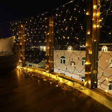 3MX2M Christmas Garlands LED String Christmas Net Lights Fairy Xmas Party Garden Wedding Decoration Curtain Lights D30 4 5x3m christmas garlands led string christmas net lights fairy xmas party garden wedding decoration curtain lights