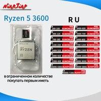 AMD Ryzen 5 3600 R5 3600 3.6 GHz Six-Core Twelve-Thread CPU Processor 7NM 65W L3=32M  100-000000031 Socket AM4 new but no fan 1