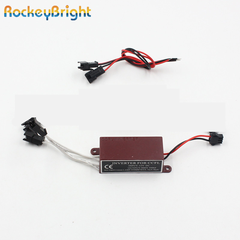 Rockeybright 1pc CCFL inverter Angel Eyes Halo Rings Inverters Blocks Power driver for BMW E46 E39 E38 <font><b>E36</b></font> E34 <font><b>LED</b></font> CCFL ballast image