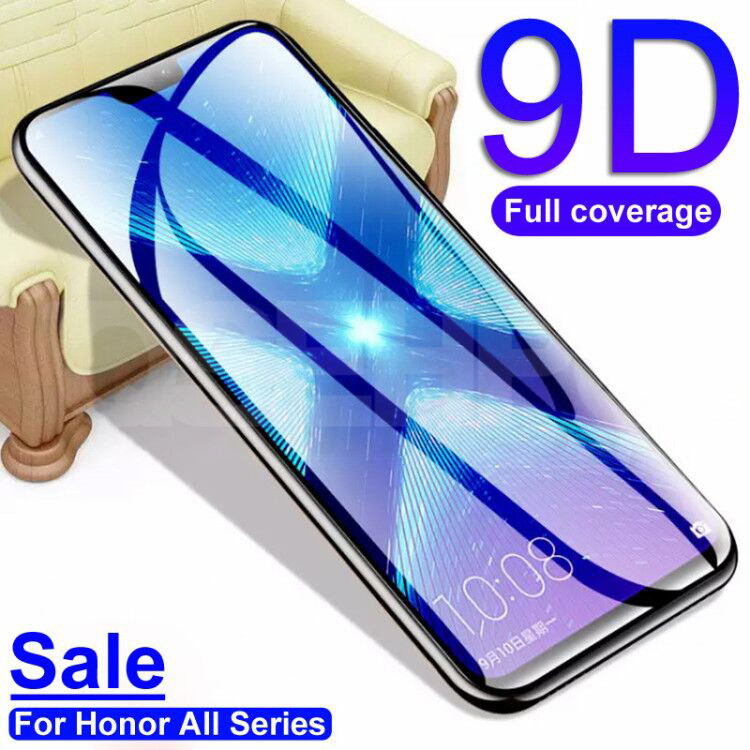9D Protective Glass on the For Huawei Honor 9 10 Lite 8X 9X Honor 20 8 Lite V10 V20 V30 Tempered Screen Protector Glass Film