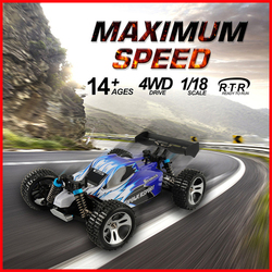 Promote Sale Wltoys A959 50km/h n A959-B 70km/h 2.4G 4CH High Speed Rc Car Speedcar Racing car Shockproof Rubber Off-Road