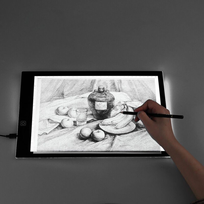 Portable A3 A4 LED Light Pad Box Drawing Tracing Tracer Copy Board Tablet Pad Copyboard for Diamond Painting Tattoo Sketching