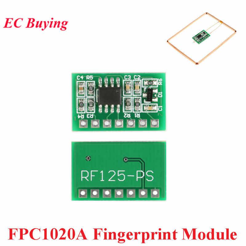 UART 125 KHz EM4100 FPC1020A AS608 Pembaca Sidik Jari Sensor Modul RFID ID Kartu IC Kapasitif Sidik Jari Modul UNTUK ARDUINO