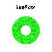 Armazém para impressoras 3d, impressora de materiais para impressão em abs verde, 2.85mm 1kg