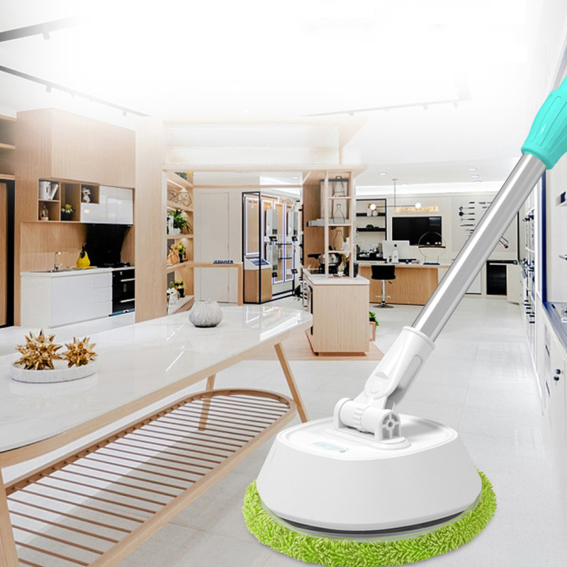 Electric Wireless Telescopic Window Cleaner Cordless Glass Cleaning Floor Mops Floor Sweeping Wiper Powerful Cleaner Washer