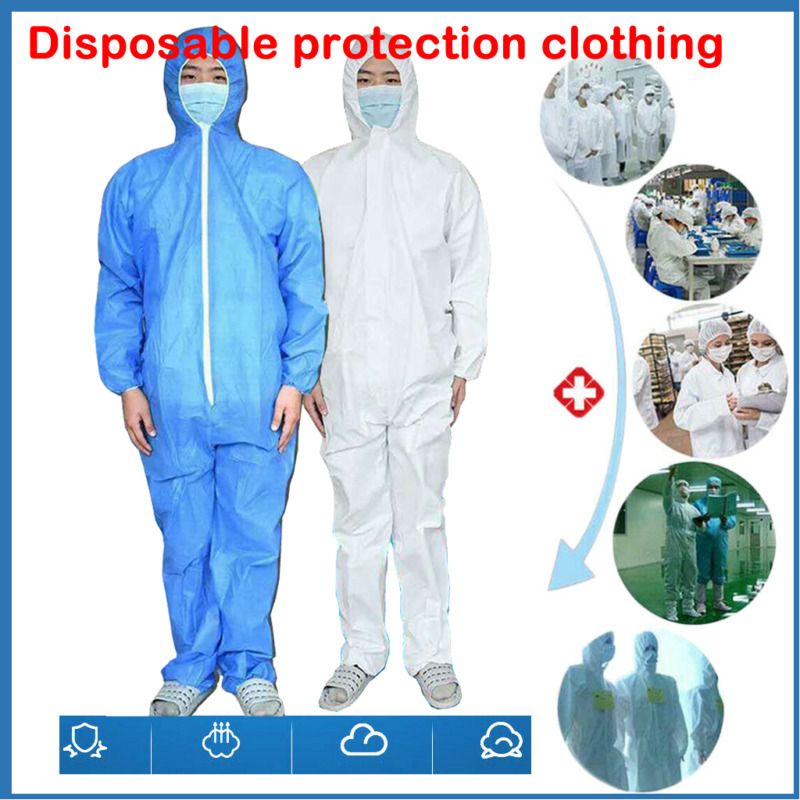 Protective Suit Protect Safety Medical Clothing Anti Bacteria Droplet Safety Clothing Surgical Medical Protective Overall Suit