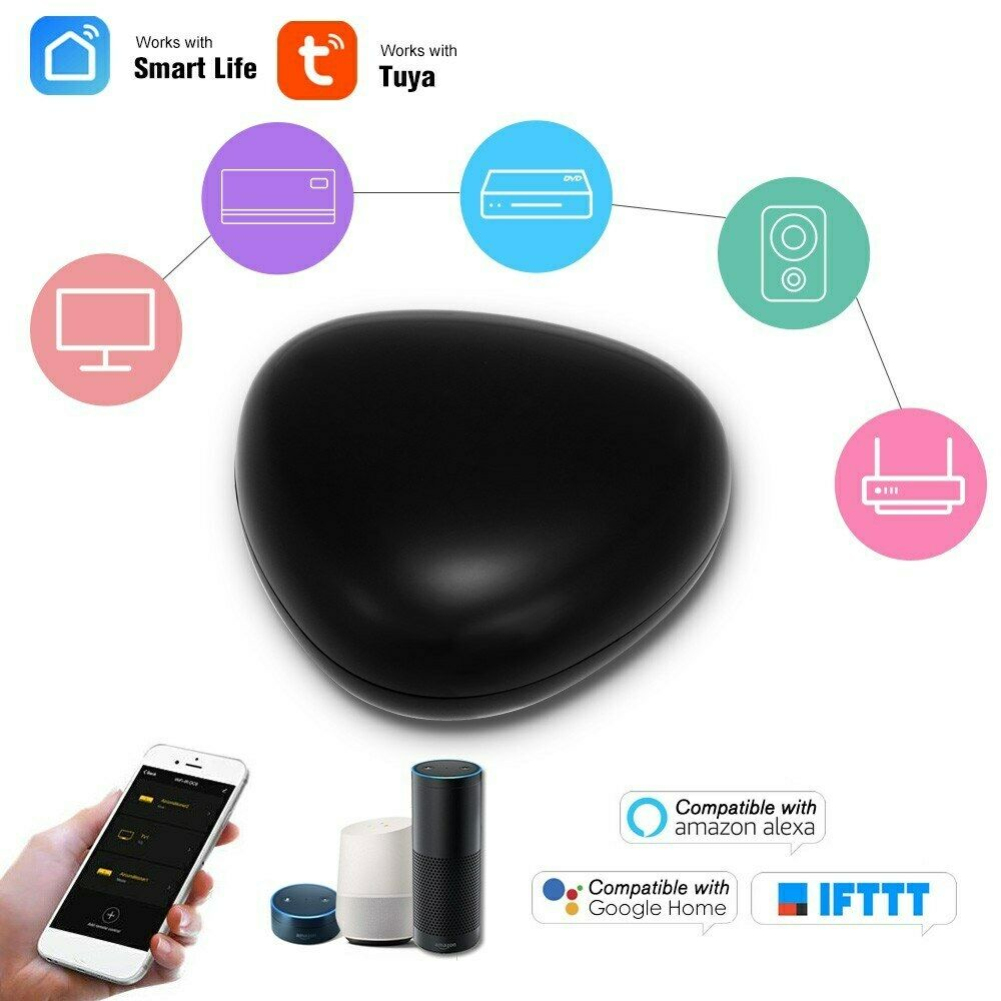 WIFI Universal <font><b>Smart</b></font> IR Control <font><b>Hub</b></font> Wi-Fi Enabled Infrared Remote Controller image