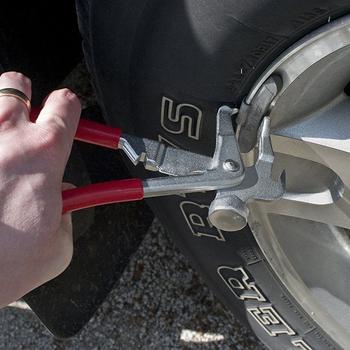 Bilans opon blok koła waga szczypce młotek stabilizator do kół samochodu równoważenie narzędzie do opon naprawa samochodów akcesoria narzędziowe tanie i dobre opinie CN (pochodzenie) 0 5kg