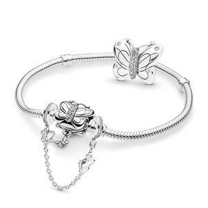 Image 2 - KAKANY סטרלינג קסם 2020 אביב חדש אביב גן קלאסי קסם עם צמיד מקורי 1:1 באיכות גבוהה תכשיטים