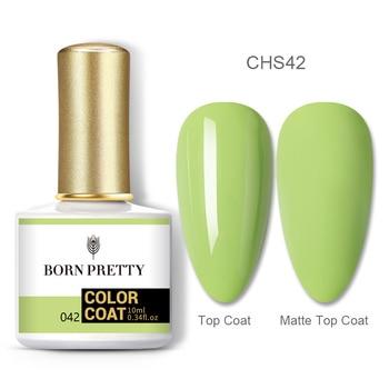 BORN PRETTY Nail Gel 120Colors 10ml Gel Nail Polish Soak Off UV LED Gel Varnish Holographics Shining Nagel Kunst Gellack 90