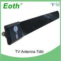 Antena de tv interior digital antena al aire libre hdtv hqclear receptor exterior amplificador de DVB-T2 dtv dvb t2 tv-4k señal para